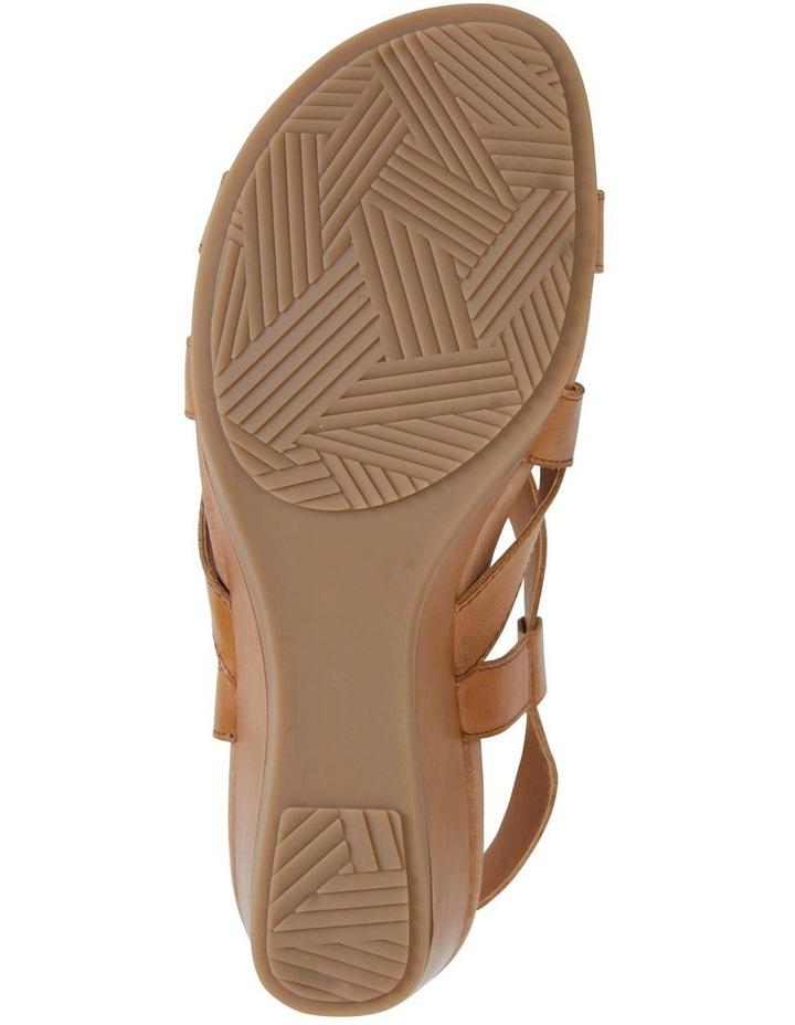 Miriam Cognac Glove Sandal image 6