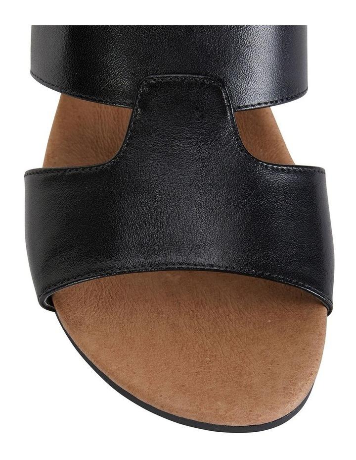 Melanie Black Glove Sandal image 5