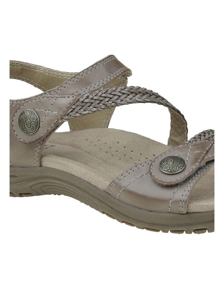 Crop Sandal Taupe image 3