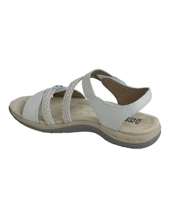 Crop White Leather Sandal image 5