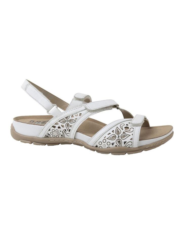 Malu Sand White Leather Sandal image 2