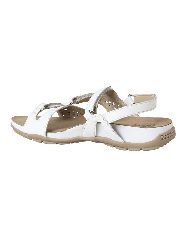Malu Sand White Leather Sandal image 5