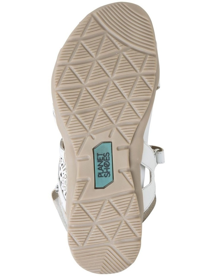 Malu Sand White Leather Sandal image 6