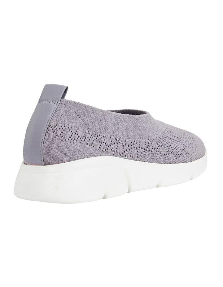 Jamie Grey Knit Sneaker image 3