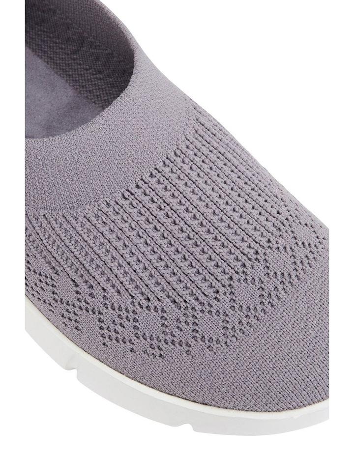 Jamie Grey Knit Sneaker image 4