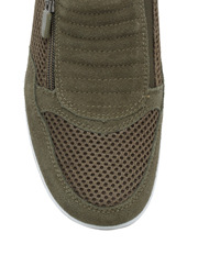 Just Bee - Just Bee Corlu Khaki Sneaker
