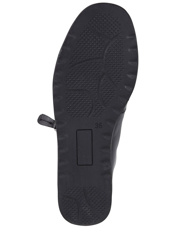 Wide Steps Noble Black Glove Sneaker image 6