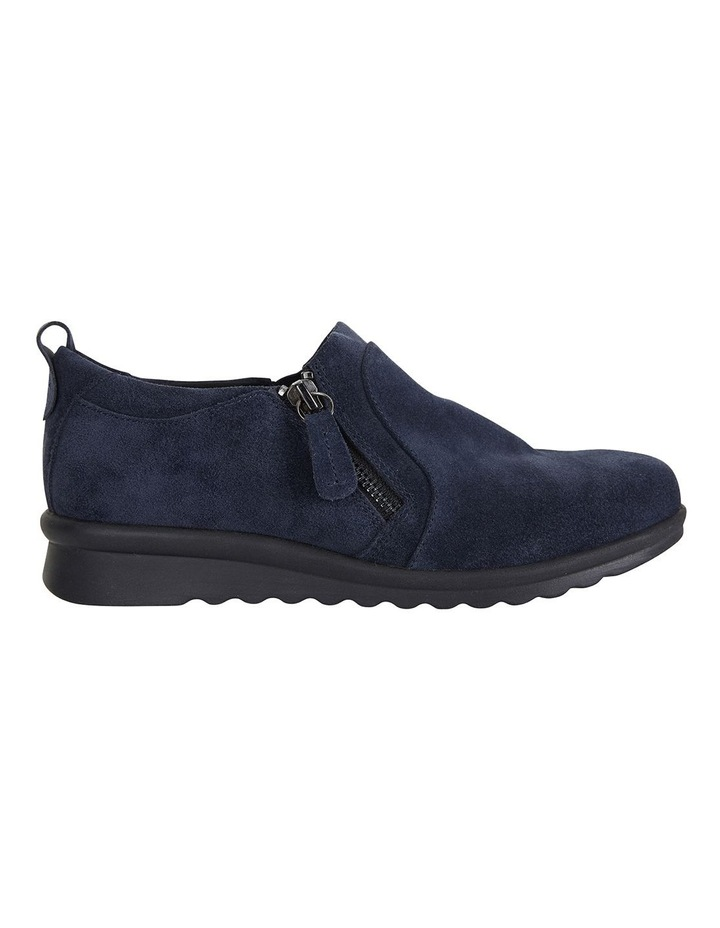 Wide Steps Noble Navy Suede Sneaker image 1