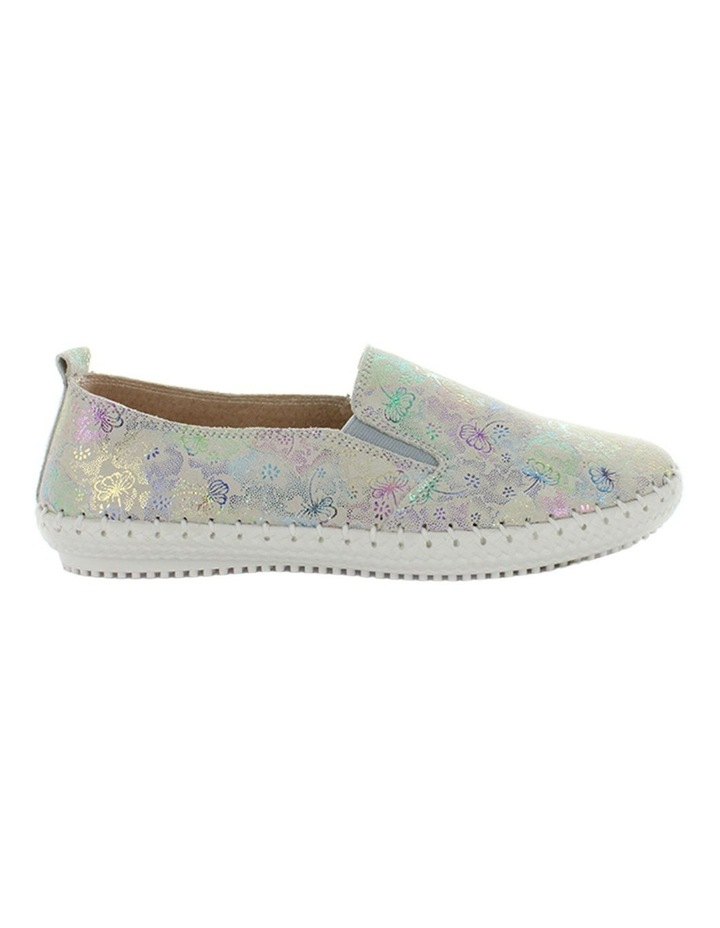 Coble Silver Floral Sneaker image 1