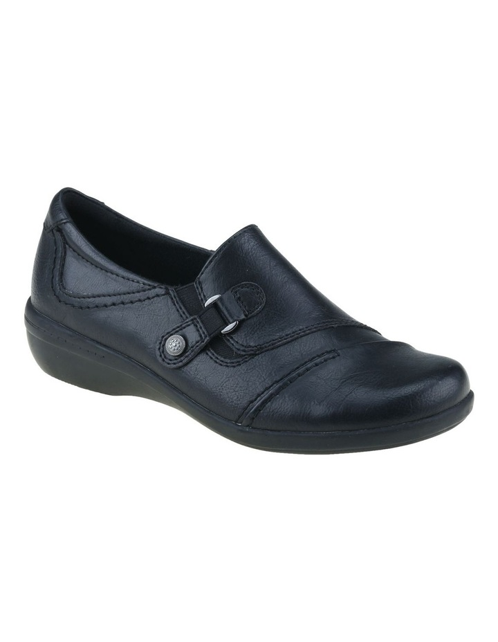 Corby Black Flat Shoes image 1