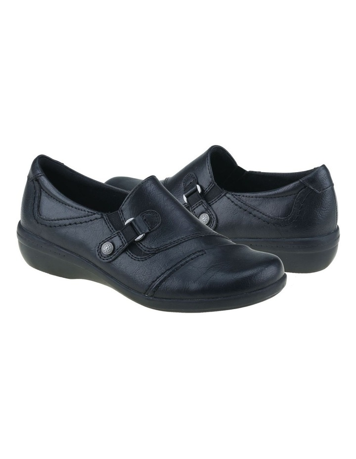 Corby Black Flat Shoes image 2
