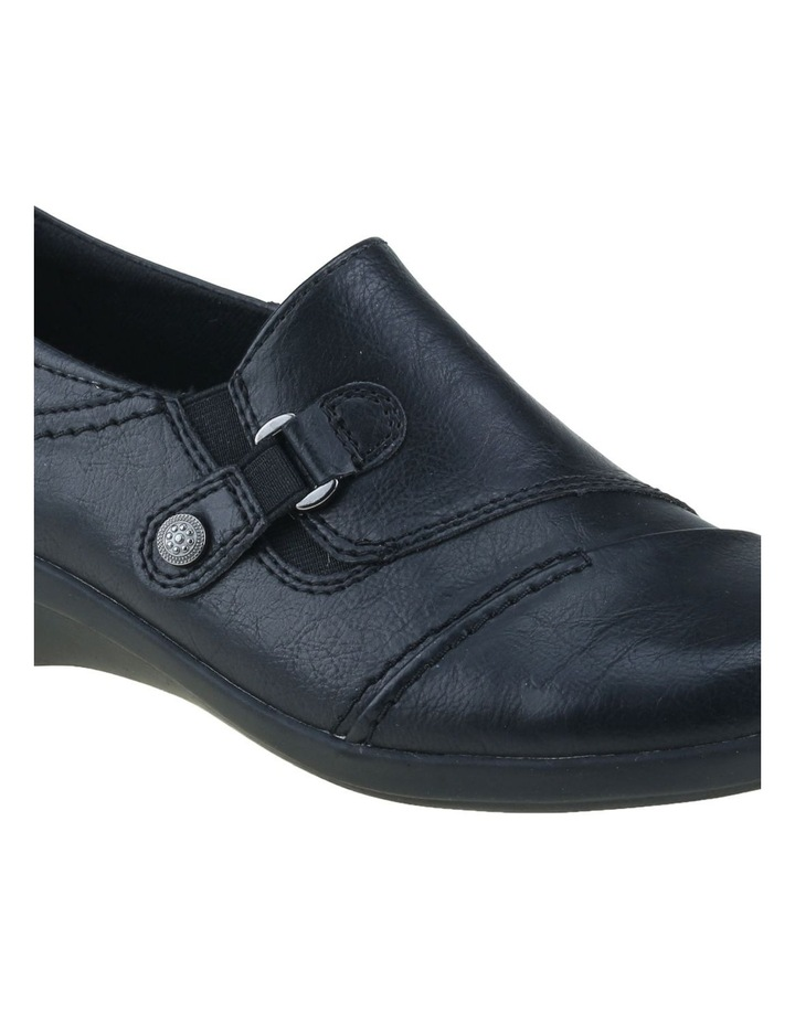 Corby Black Flat Shoes image 4