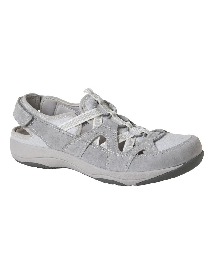Sid Frost Grey Suede Leather Sneaker image 2