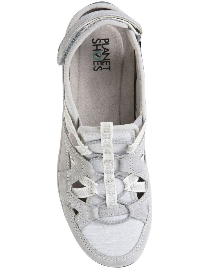 Sid Frost Grey Suede Leather Sneaker image 3