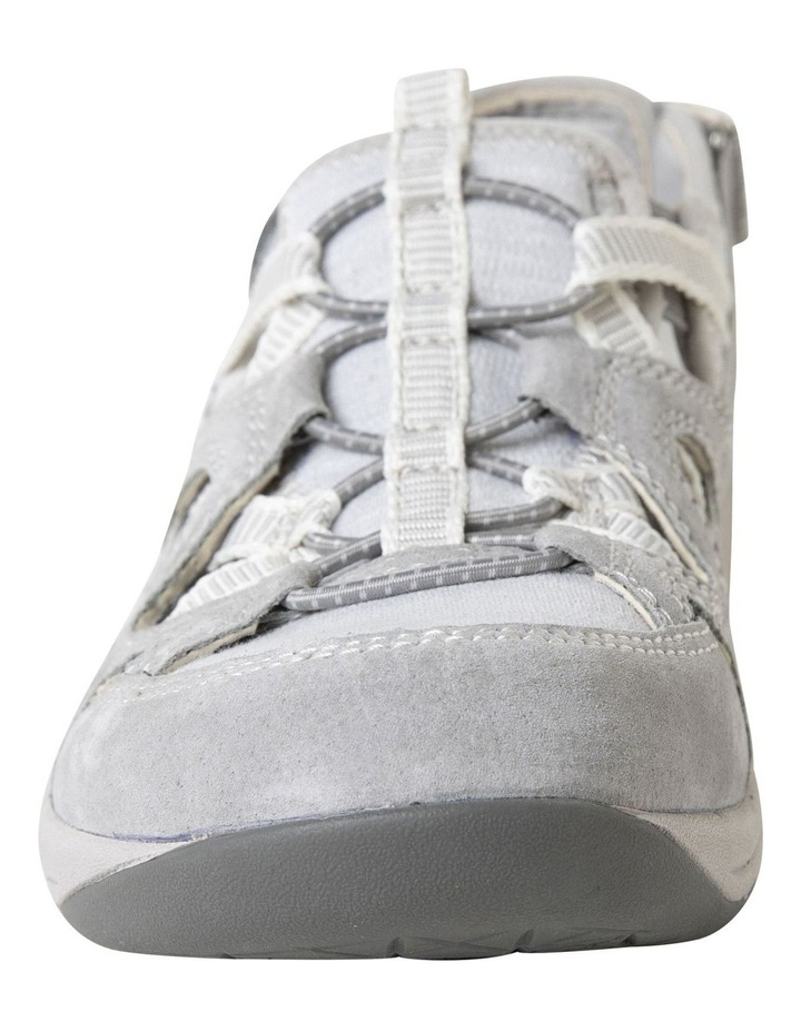 Sid Frost Grey Suede Leather Sneaker image 4