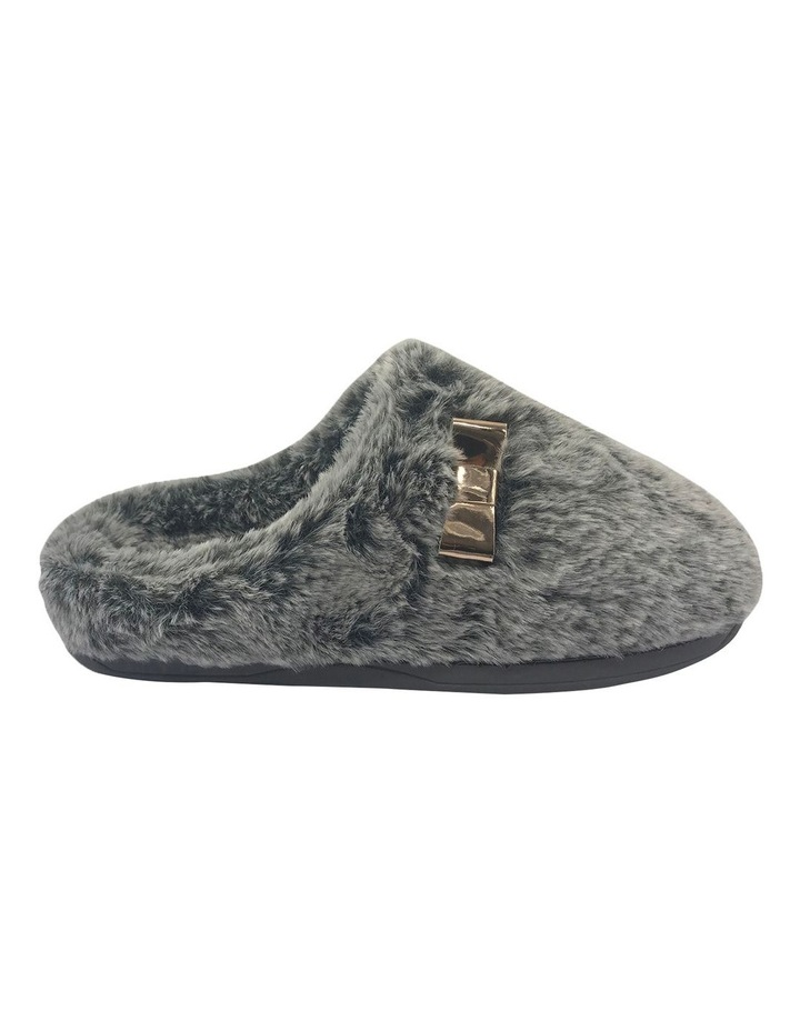 Grosby Invisible Cosy Grey Slipper image 1