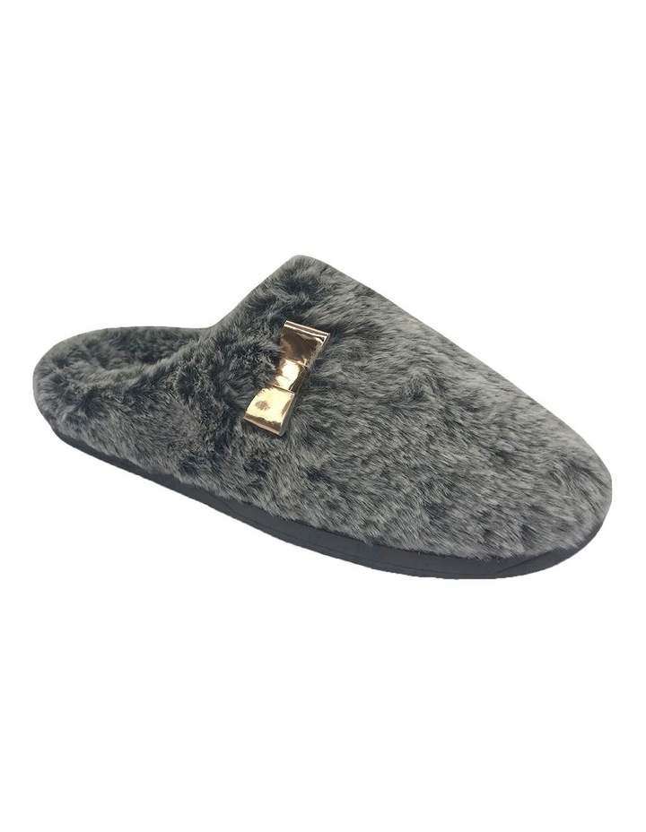 Grosby Invisible Cosy Grey Slipper image 2