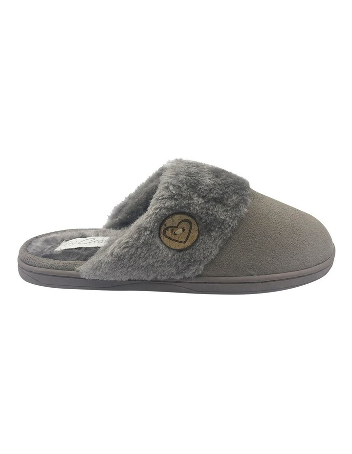 Grosby Invisible Earth Taupe Slipper image 1
