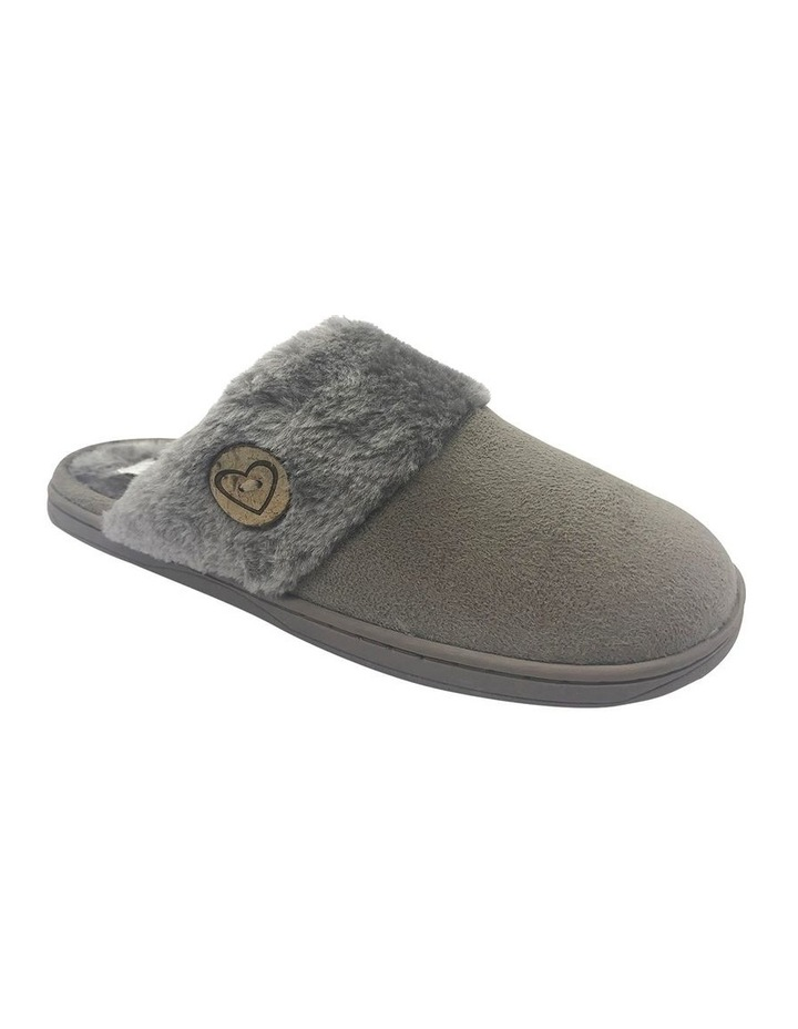 Grosby Invisible Earth Taupe Slipper image 2