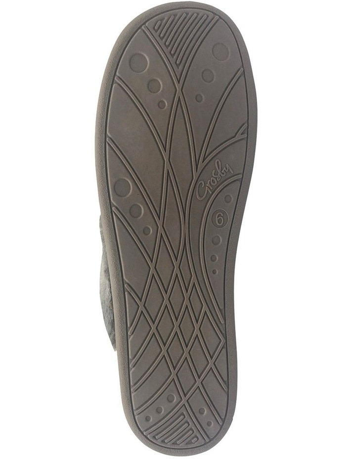 Grosby Invisible Earth Taupe Slipper image 3