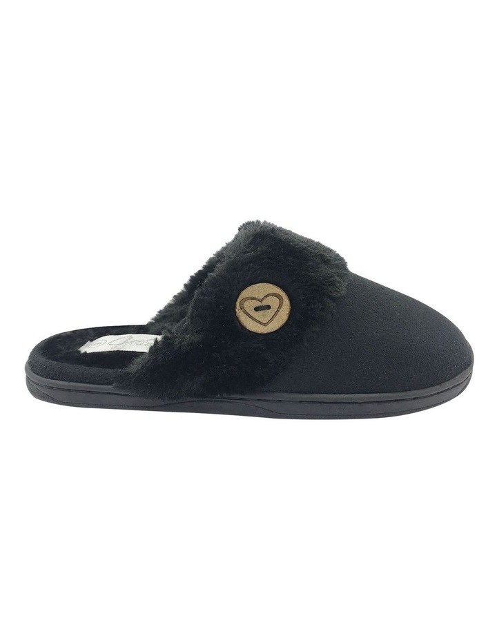 Grosby Invisible Earth Black Slipper image 1