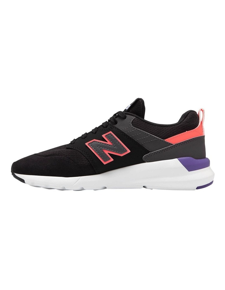 WS009 LA1 Black/Pink Sneaker image 2