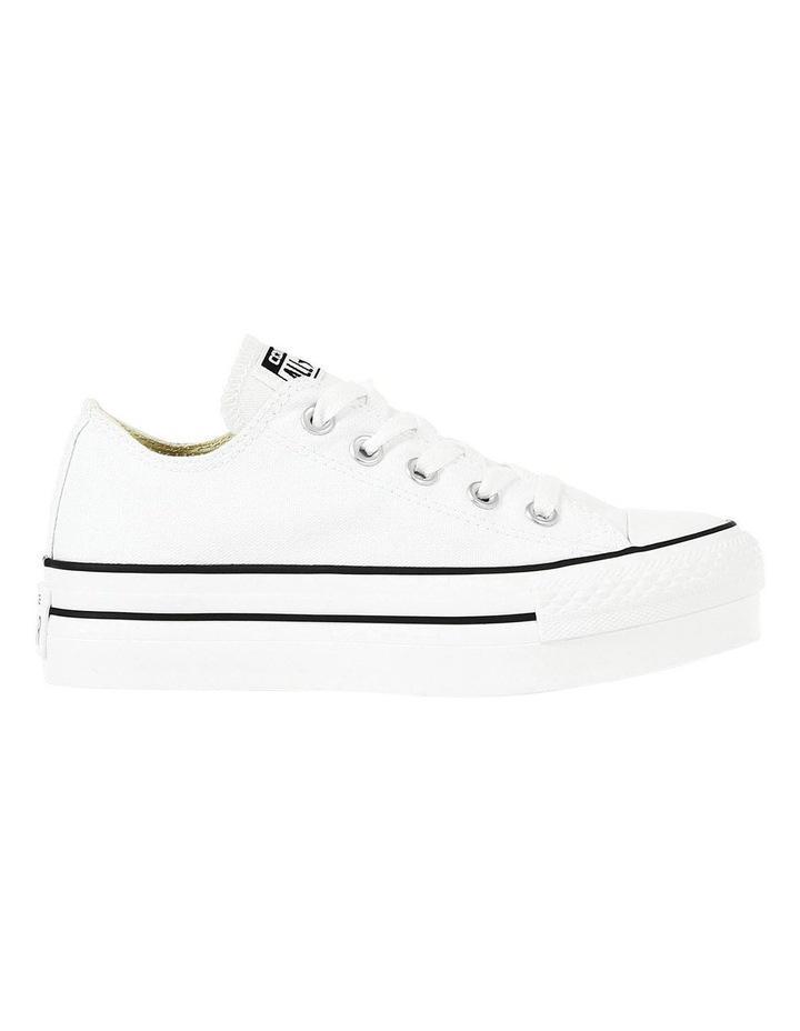 Chuck Taylor All Star Platform Ox 540265 White Sneaker image 1