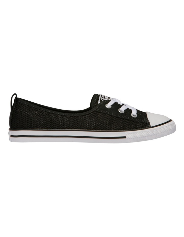 Chuck Taylor All Star Ballet Lace Ox 558290 Black/Black/White Sneaker image 1