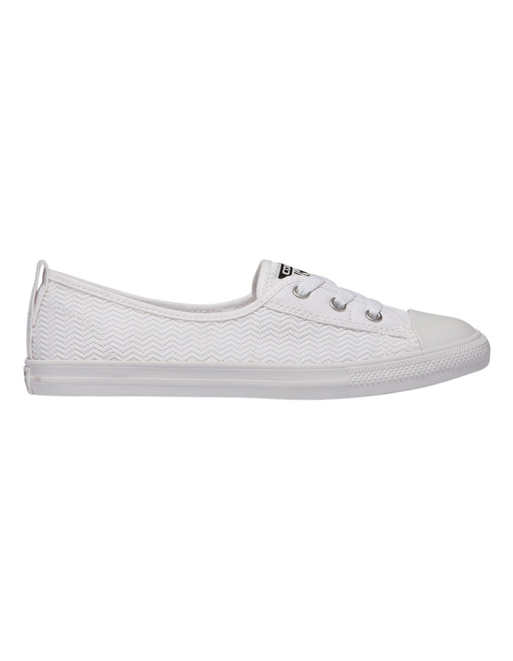 1a9c565f4b8 Chuck Taylor All Star Ballet Lace Ox 558292 White/White/White Sneaker image  1