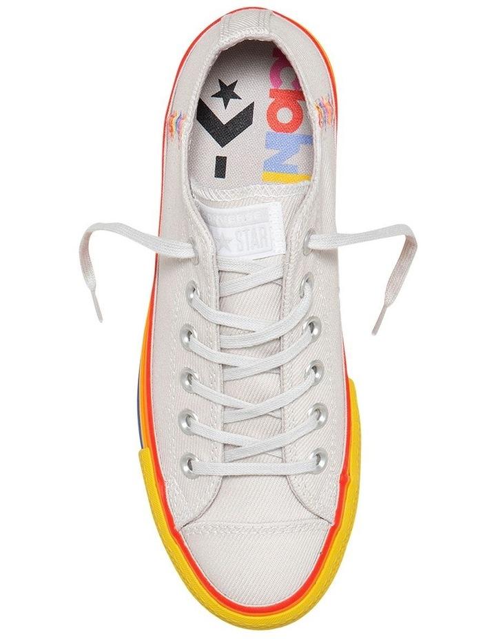 Converse CTAS Lift Rainbow 564992C Vintage White Sneaker