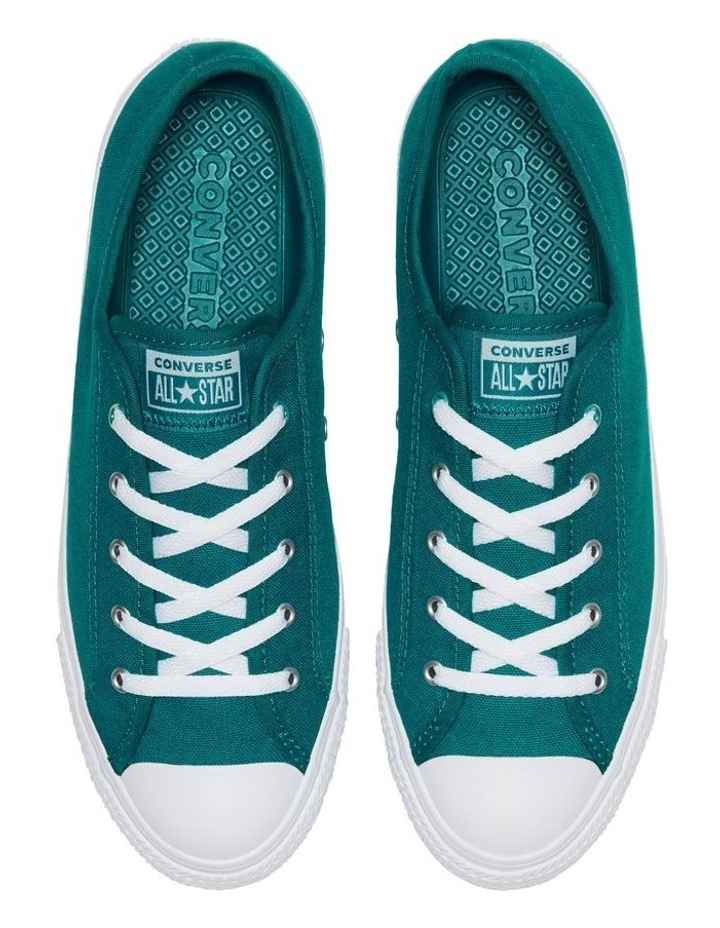 CTAS Dainty Iridescent Ox 566148C Green Abyss Sneaker image 4