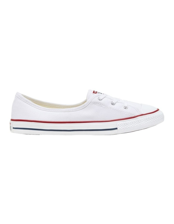 Chuck Taylor All Star Ballet Lace 2.0 566774 White/Garnet/Navy Sneaker image 1
