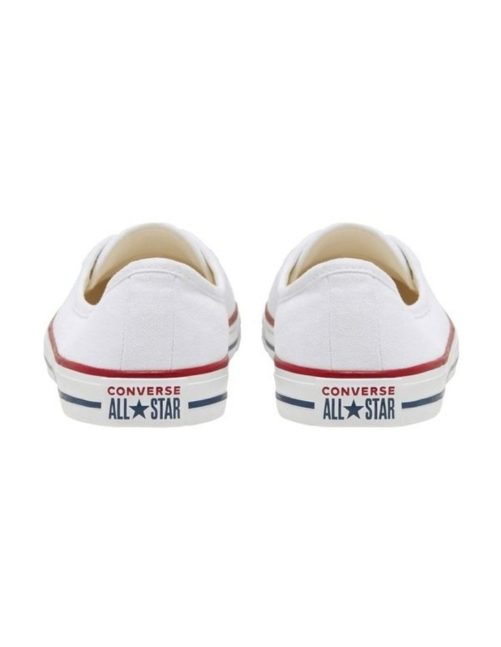 Chuck Taylor All Star Ballet Lace 2.0 566774 White/Garnet/Navy Sneaker image 6
