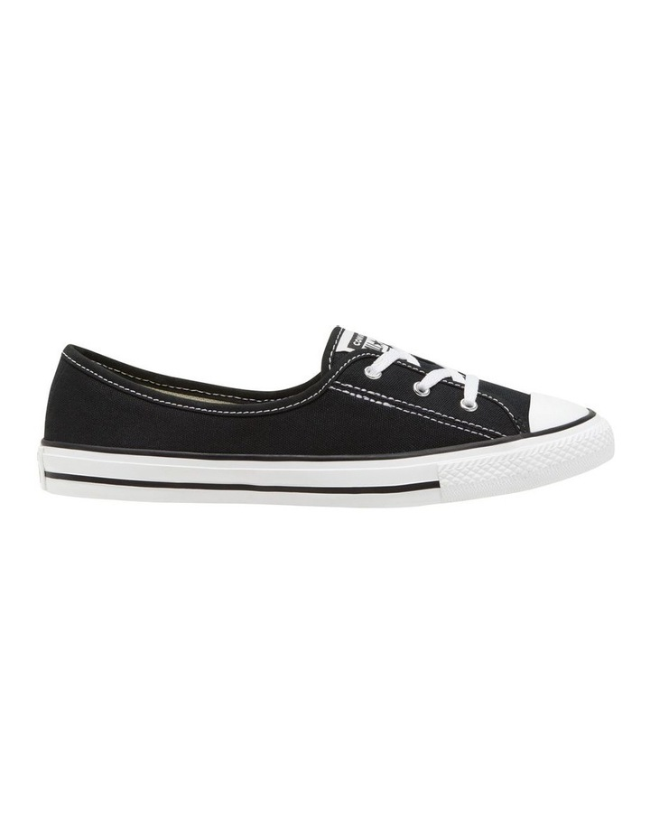 Chuck Taylor All Star Ballet Lace 2.1 566775 Black/White/Black Sneaker image 1
