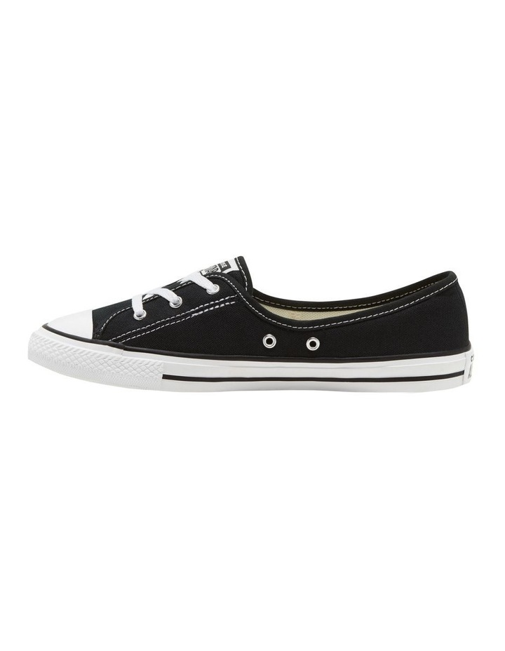 Chuck Taylor All Star Ballet Lace 2.1 566775 Black/White/Black Sneaker image 2