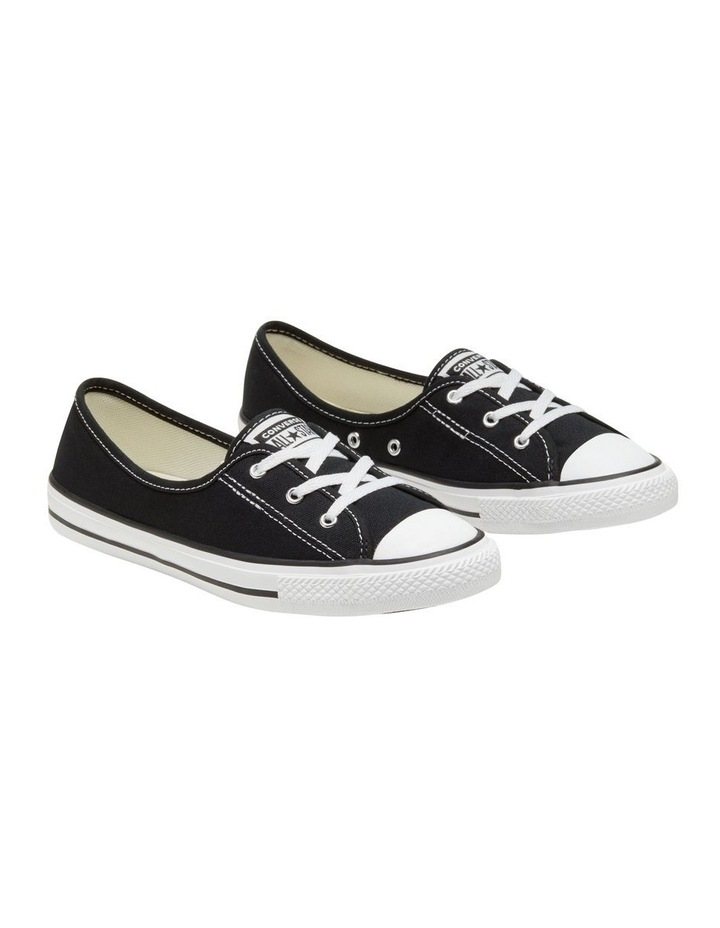 Chuck Taylor All Star Ballet Lace 2.1 566775 Black/White/Black Sneaker image 4