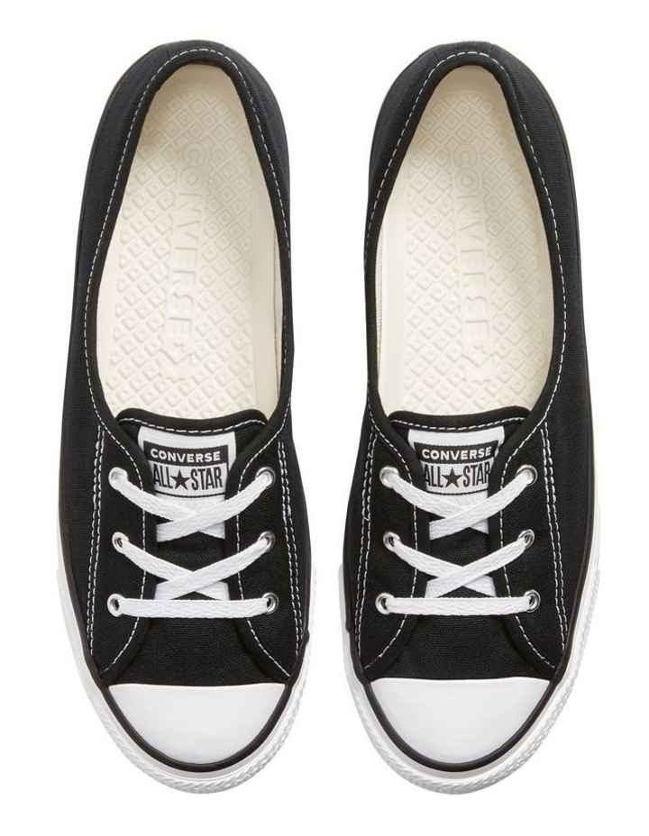 Chuck Taylor All Star Ballet Lace 2.1 566775 Black/White/Black Sneaker image 5