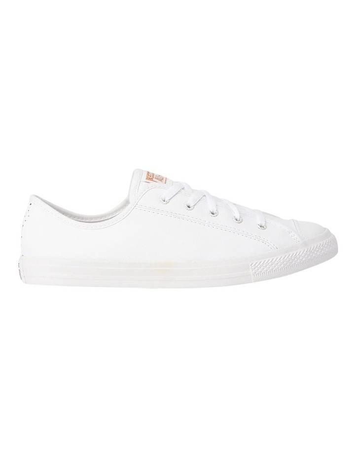 Chuck Taylor All Star Dainty Speckled 568158 White/White/Blush Gold Sneaker image 1
