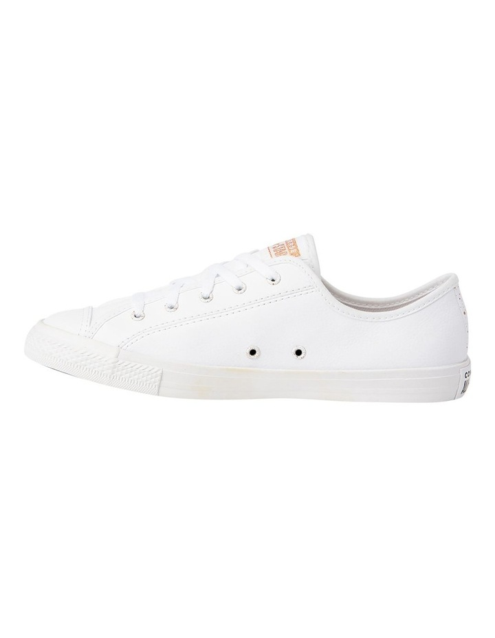 Chuck Taylor All Star Dainty Speckled 568158 White/White/Blush Gold Sneaker image 2