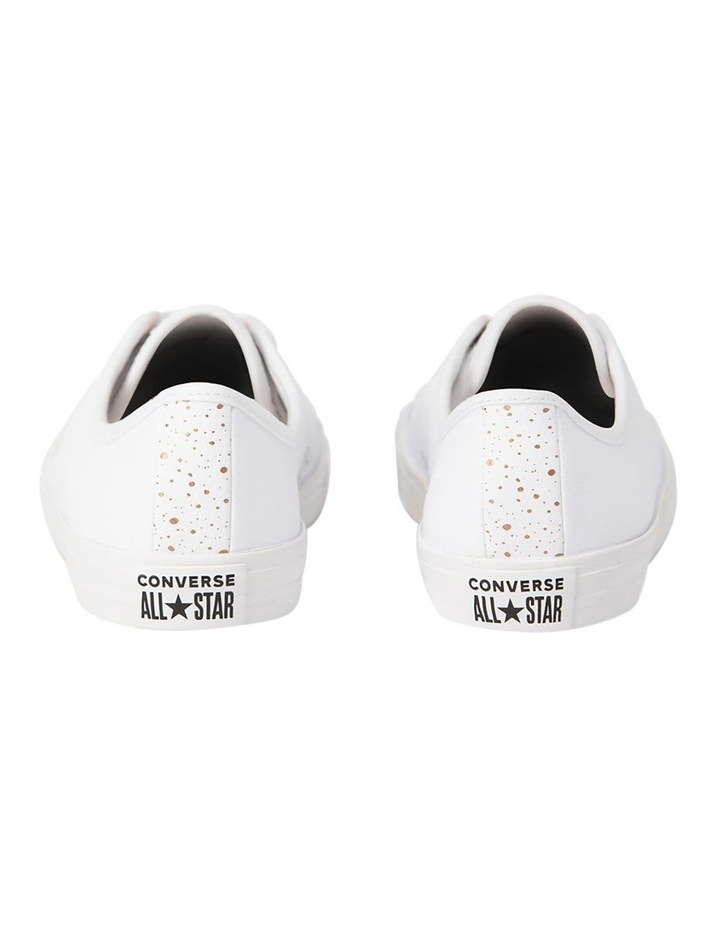 Chuck Taylor All Star Dainty Speckled 568158 White/White/Blush Gold Sneaker image 4