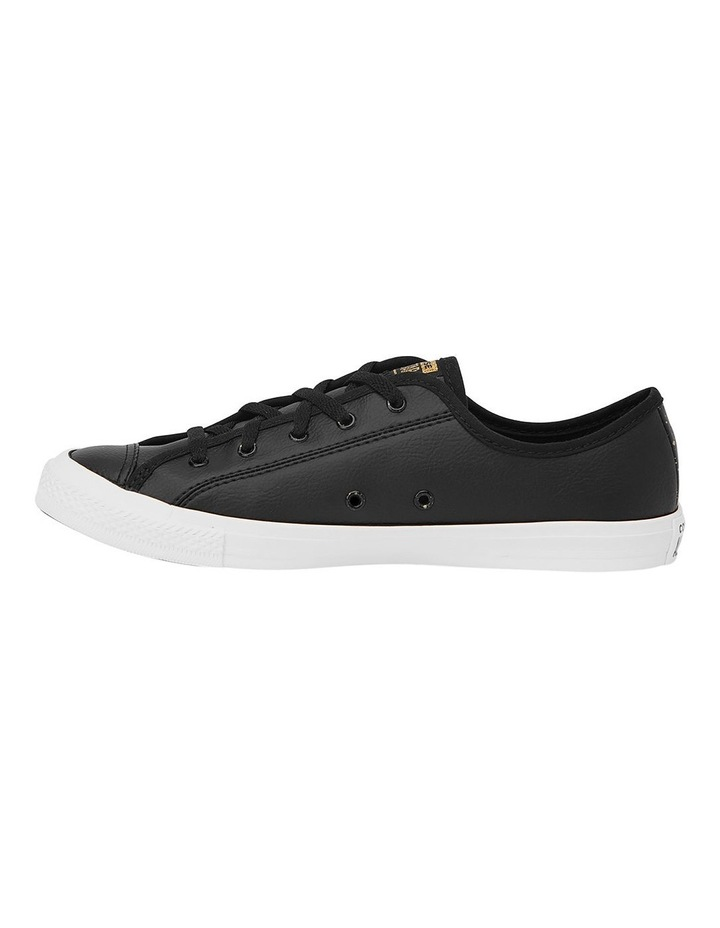 Chuck Taylor All Star Dainty Speckled  568157 Black/White/Gold Sneaker image 2