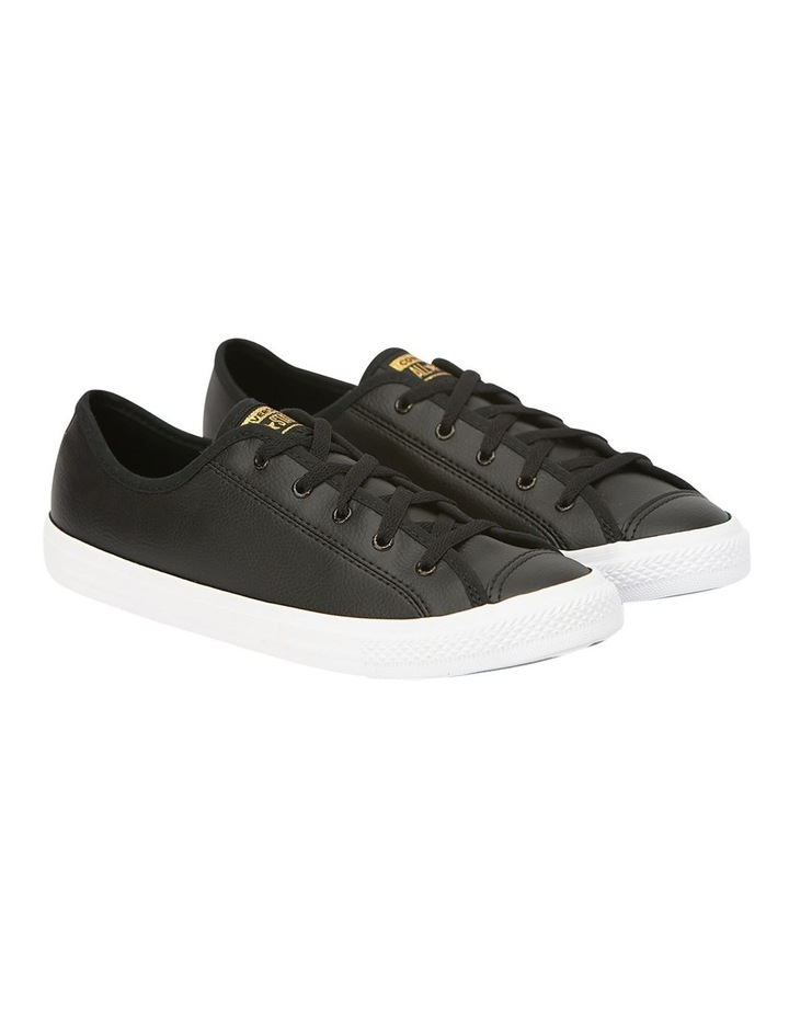 Chuck Taylor All Star Dainty Speckled  568157 Black/White/Gold Sneaker image 3
