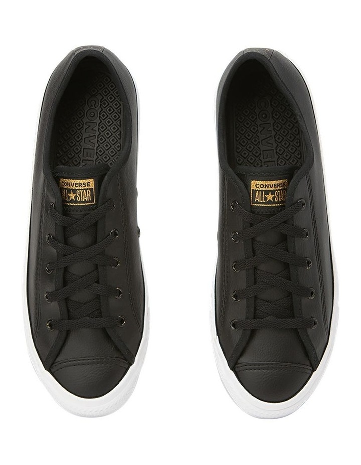 Chuck Taylor All Star Dainty Speckled  568157 Black/White/Gold Sneaker image 5