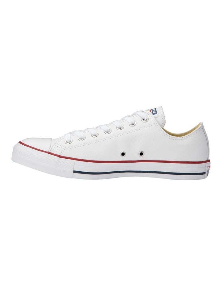 Chuck Taylor All Star White Leather Low Womens image 2