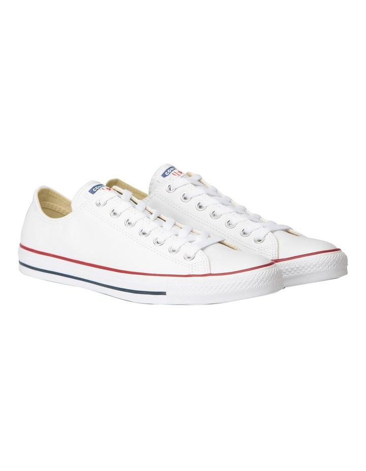 Chuck Taylor All Star White Leather Low Womens image 3