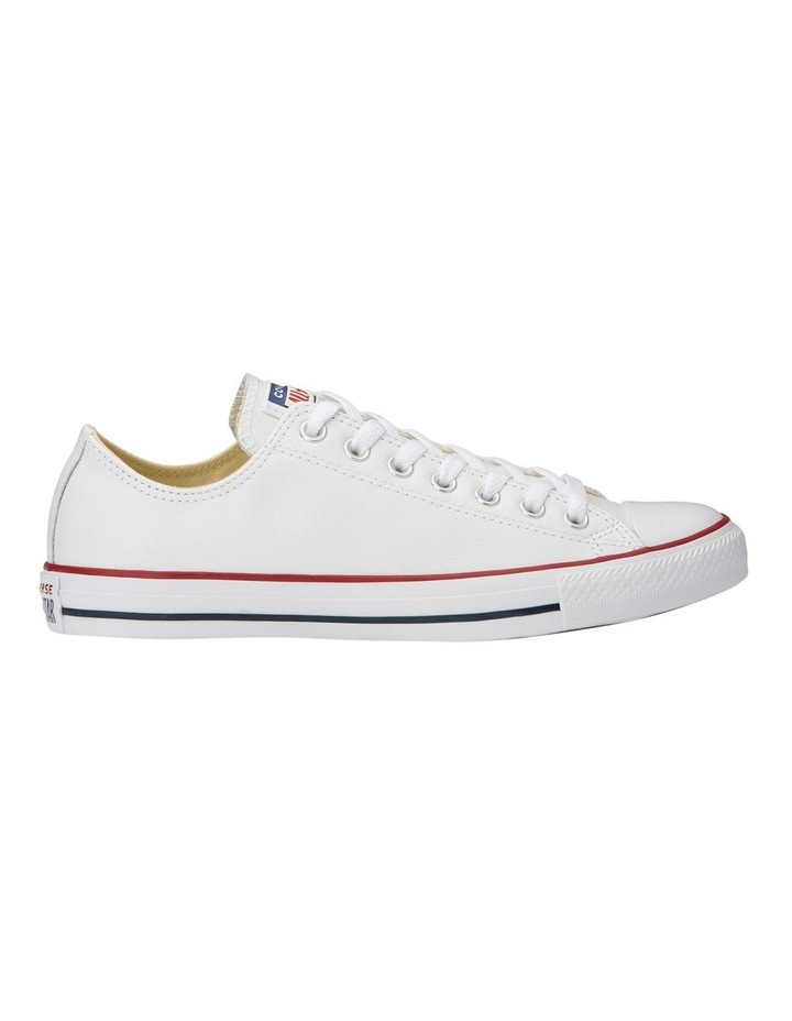 Chuck Taylor All Star White Leather Low Womens image 6