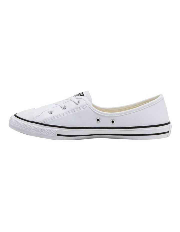 Chuck Taylor All Star Ballet White Sneaker image 2