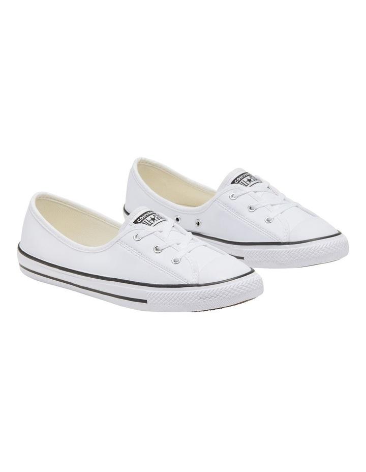 Chuck Taylor All Star Ballet White Sneaker image 3