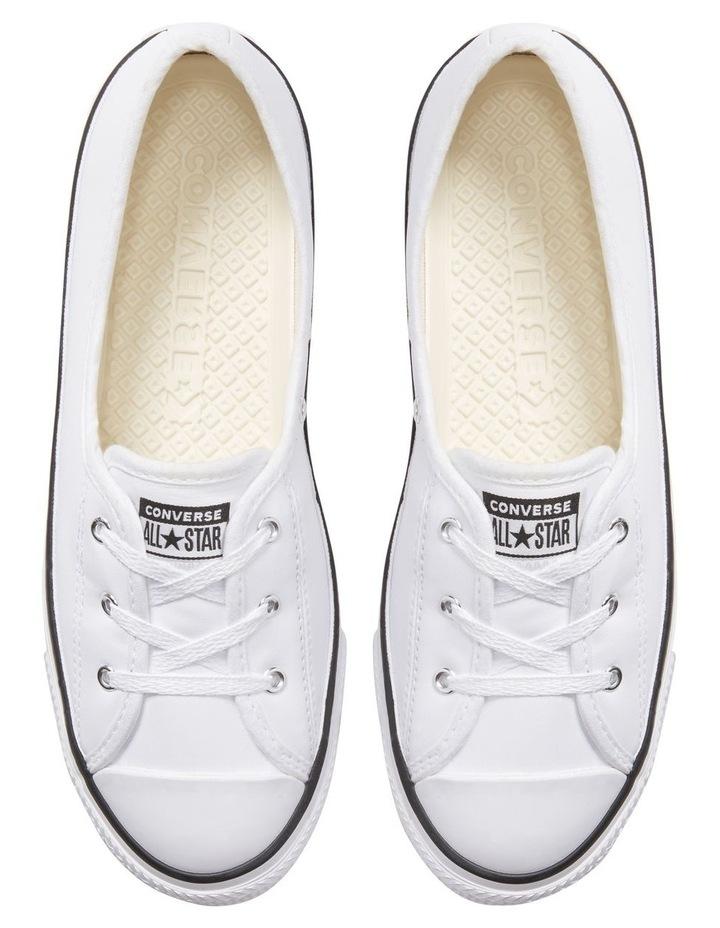 Chuck Taylor All Star Ballet White Sneaker image 4