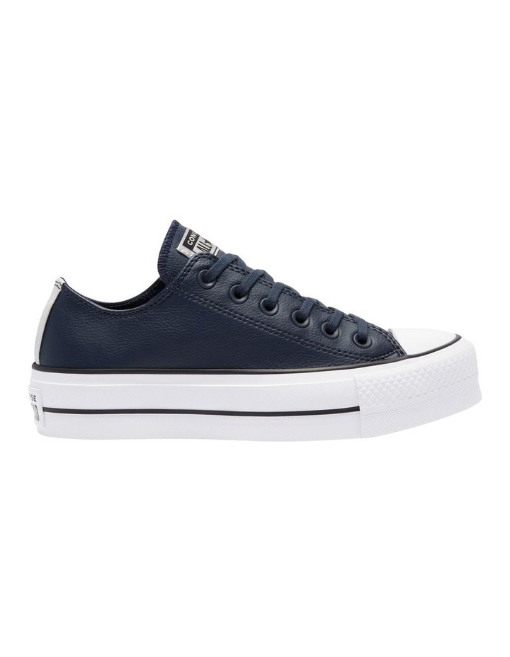 Chuck Taylor Leather Low Lift Obsidian 570453 image 1